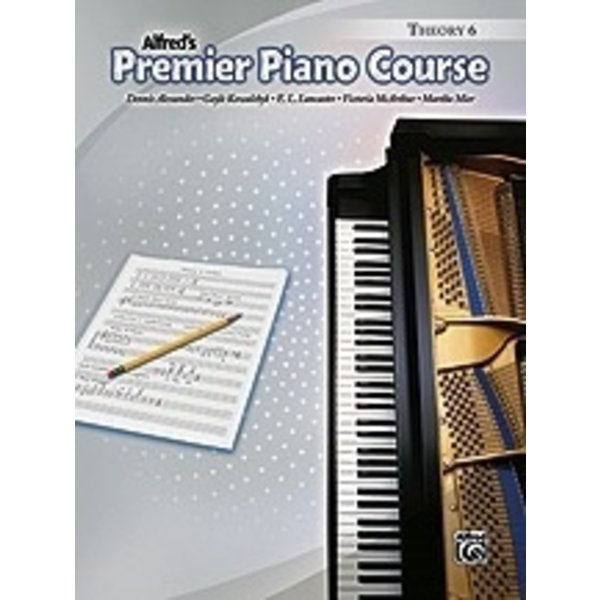 Alfred Music Premier Piano Course: Theory Book 6
