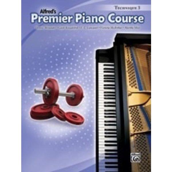 Alfred Music Premier Piano Course: Technique Book 3