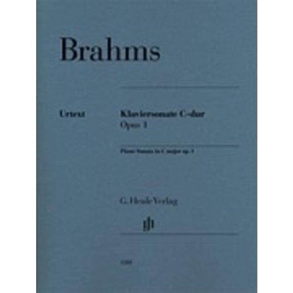 Henle Urtext Editions Brahms - Klaviersonate C-dur Opus 1