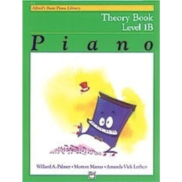 Alfred Music Alfred's Basic Piano Course: Theory Book 1B