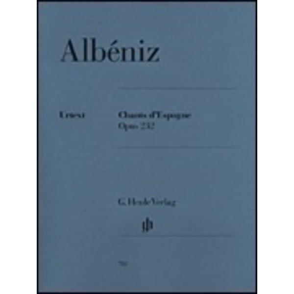 Henle Urtext Editions Albéniz - Chants d'Espagne Op. 232