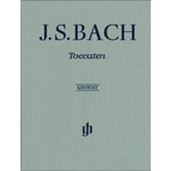 Henle Urtext Editions Bach - Toccatas BWV 910-916 Hardcover w/ fingering