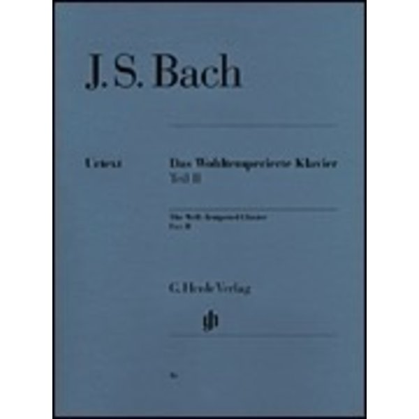Henle Urtext Editions J.S. Bach - The Well-Tempered Clavier - Part II, BWV 870-893