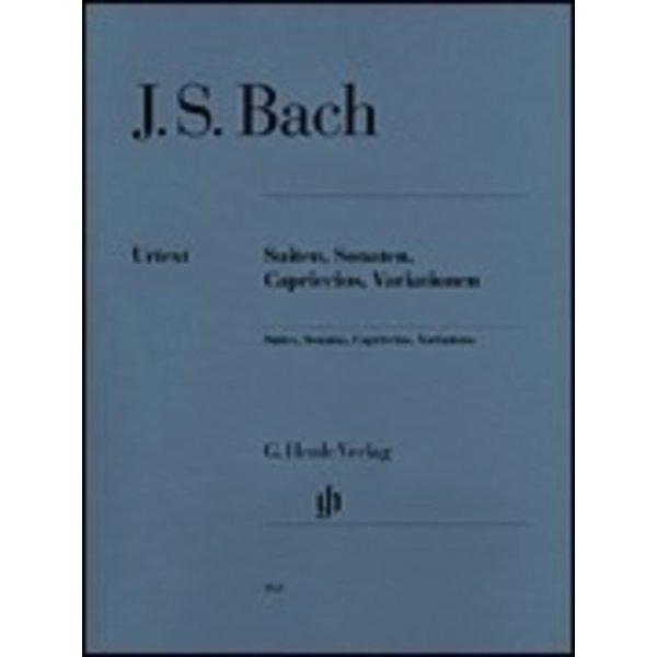 Henle Urtext Editions J.S. Bach - Suites, Sonatas, Capriccios, Variations
