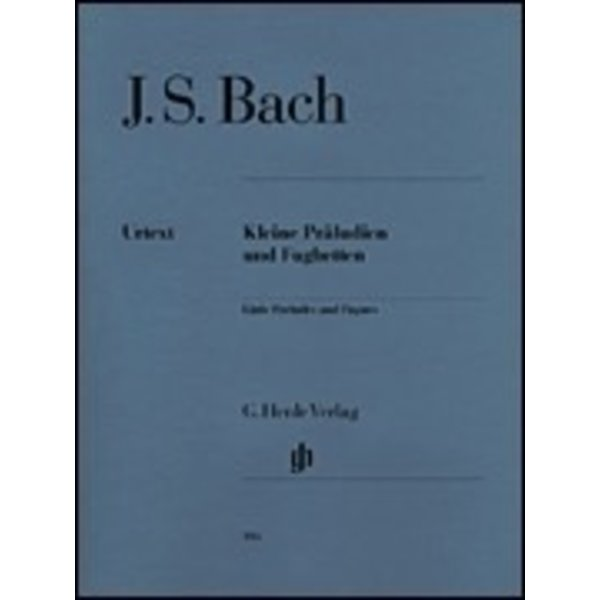 Henle Urtext Editions J.S. Bach - Little Preludes and Fughettas