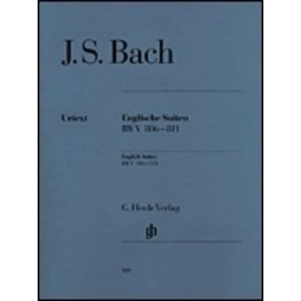 Henle Urtext Editions J.S. Bach - English Suites BWV 806-811