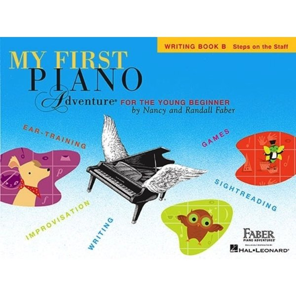 Faber Piano Adventures My First Piano Adventure - Writing Book B