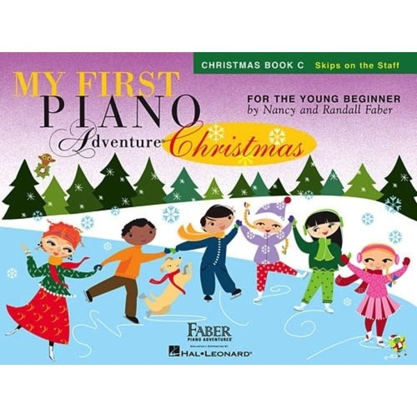Faber Piano Adventures My First Piano Adventure Christmas - Book C