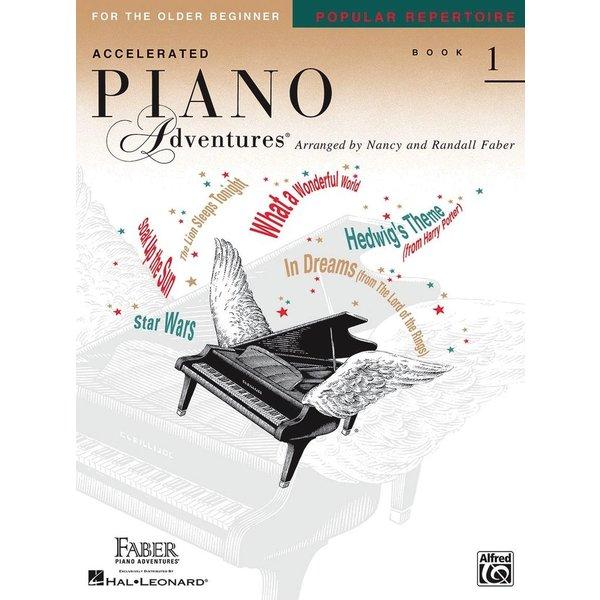 Faber Piano Adventures Accelerated Piano Adventures - Popular Repertoire Book  1