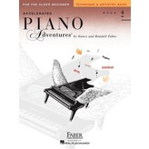 Faber Piano Adventures Accelerated Piano Adventures - Technique & Artistry Book 2