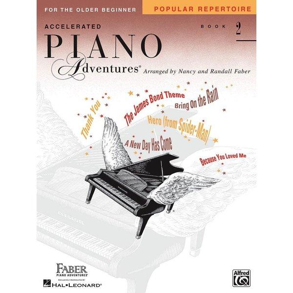 Faber Piano Adventures Accelerated Piano Adventures - Popular Repertoire Book 2
