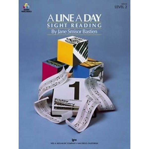 A LINE A DAY SIGHT READING, LEVEL 2
