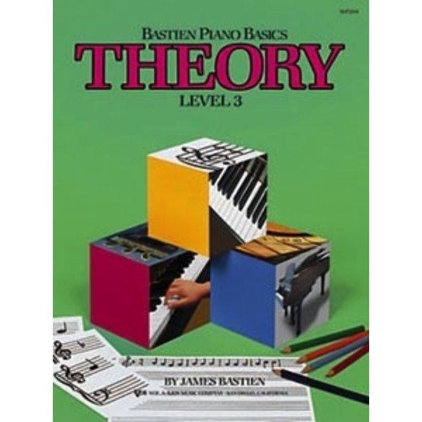 BASTIEN PIANO BASICS, LEVEL 3, THEORY