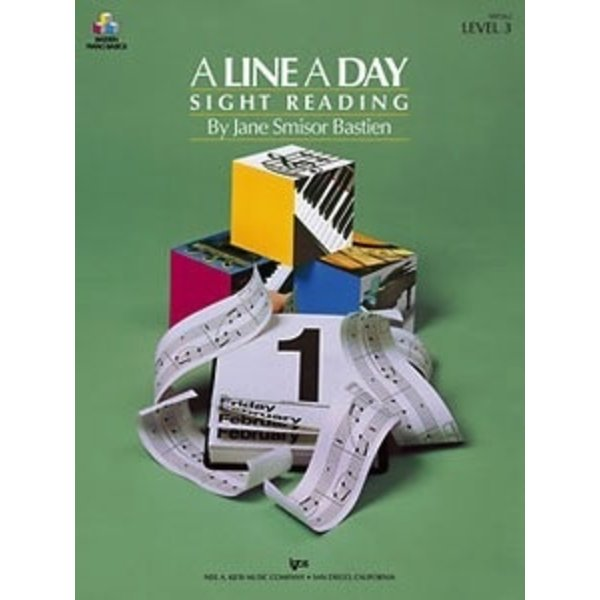 A LINE A DAY SIGHT READING, LEVEL 3