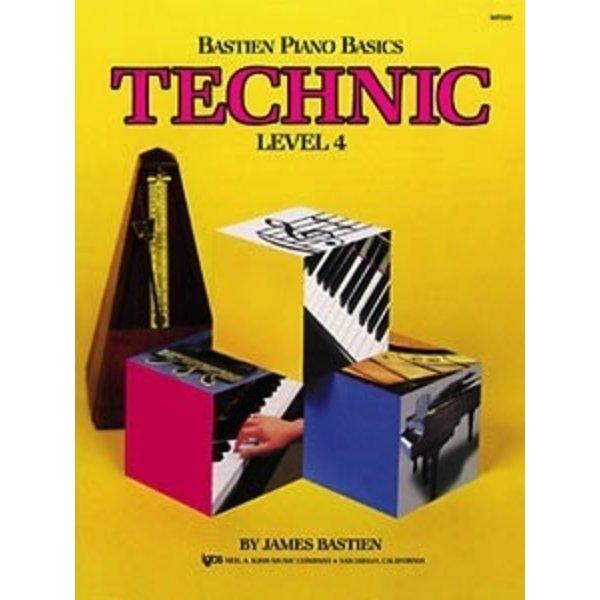 BASTIEN PIANO BASICS, LEVEL 4, TECHNIC