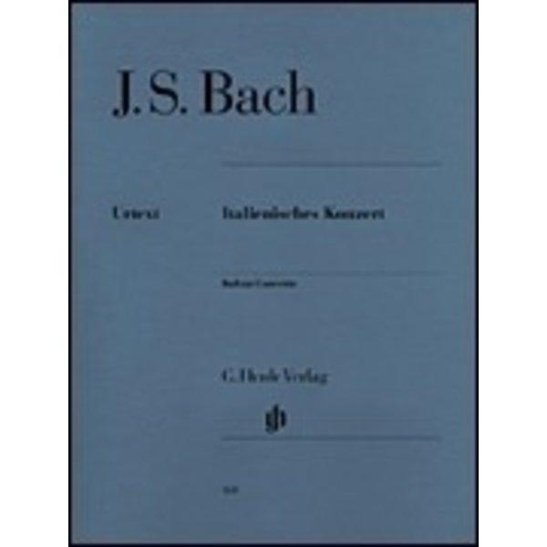 Henle Urtext Editions J.S. Bach - Italian Concerto BWV 971