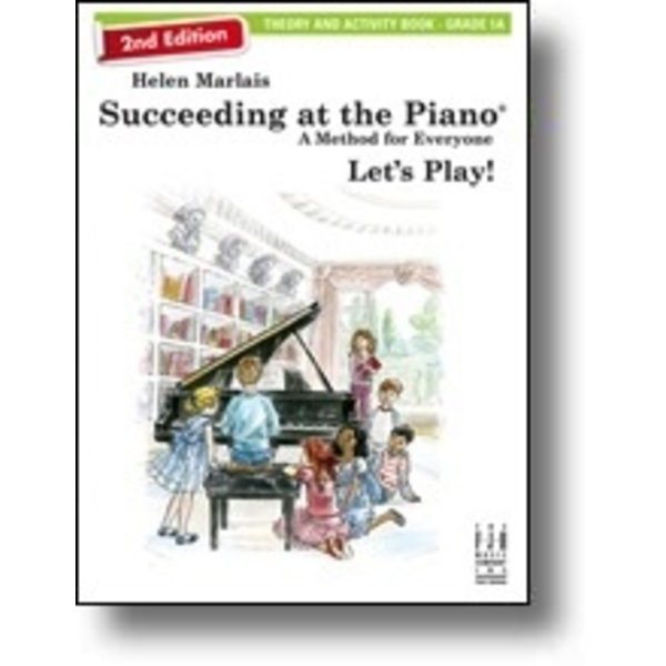 FJH 2nd Edition Succeeding at the Piano, Theory and Activity Book - Grade 1A