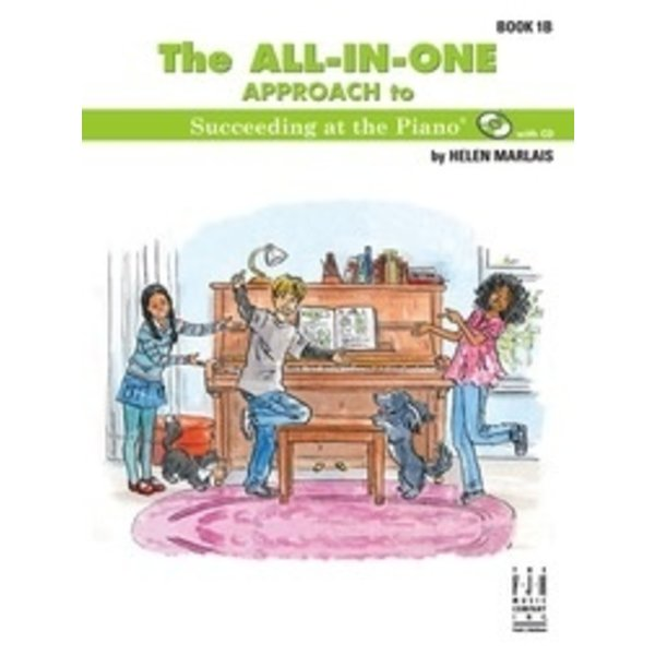 FJH The ALL-IN-ONE APPROACH to Succeeding at the Piano 1B w/CD