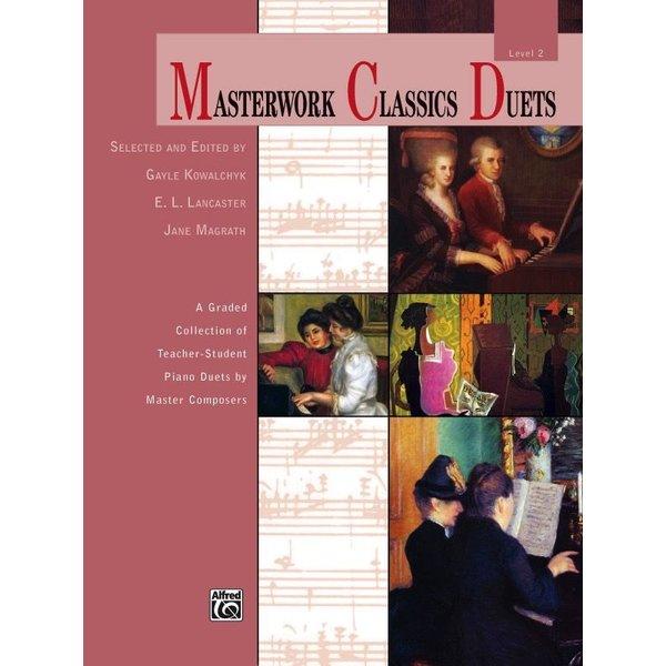 Alfred Music Masterwork Classics Duets, Level 2