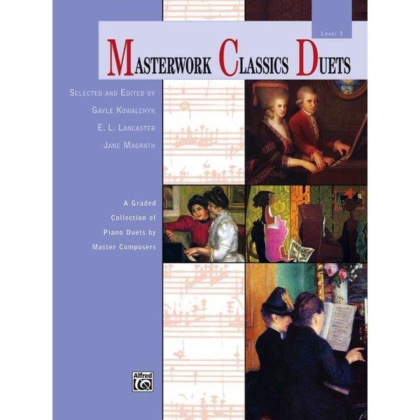 Alfred Music Masterwork Classics Duets, Level 3