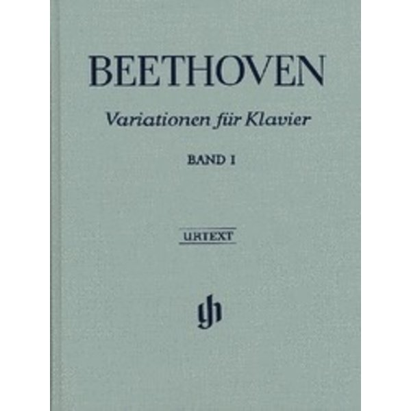 Henle Urtext Editions Beethoven - Variations for Piano - Volume I Hardcover