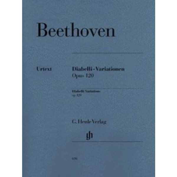 Henle Urtext Editions Beethoven - Diabelli-Variations Op. 120