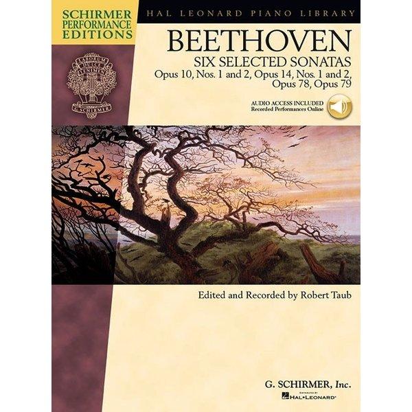 Schirmer Beethoven - Six Selected Sonatas