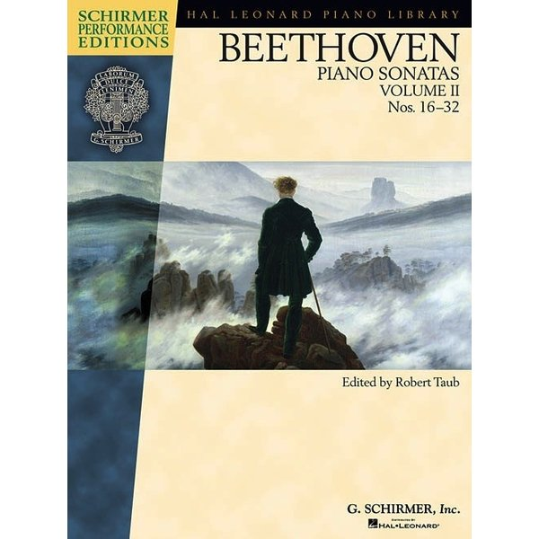 Schirmer Beethoven - Piano Sonatas, Volume II - Book Only
