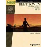 Schirmer Beethoven - Piano Sonatas, Volume I - Book Only