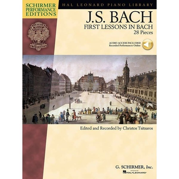 Schirmer First Lessons in Bach