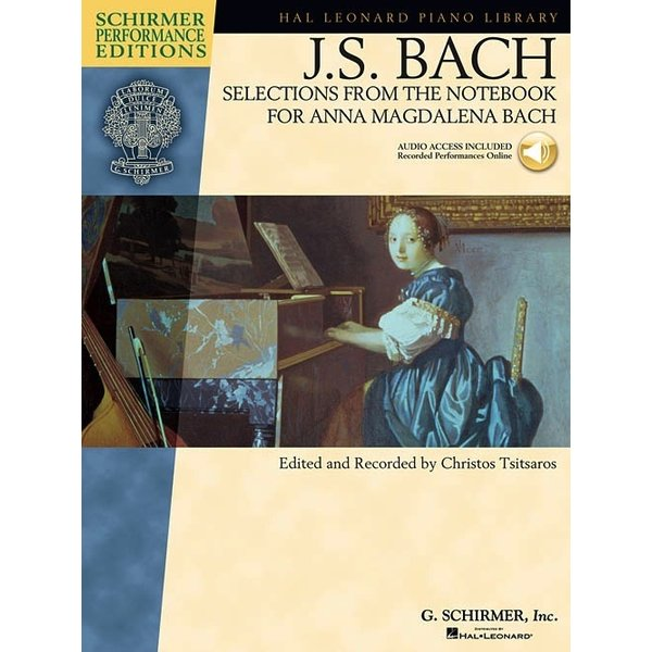 Schirmer J.S. Bach - Selections from The Notebook for Anna Magdalena Bach