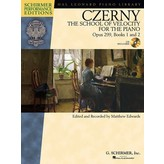 Schirmer Carl Czerny - The School of Velocity for the Piano, Opus 299, Books 1 and 2