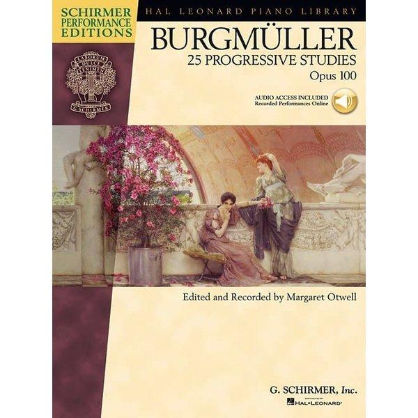 Schirmer Burgmüller - 25 Progressive Studies, Opus 100