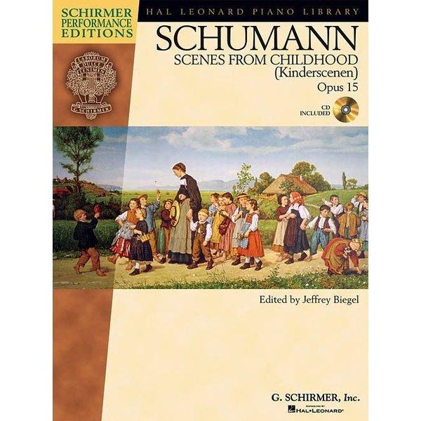 Schirmer Schumann - Scenes from Childhood (Kinderscenen), Opus 15