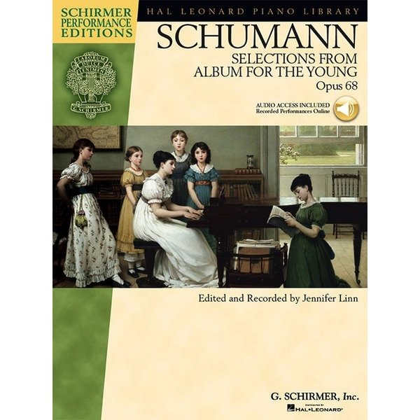 Schirmer Schumann - Selections from Album for the Young, Opus 68