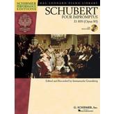 Schirmer Schubert - Four Impromptus, D. 899 (0p. 90)
