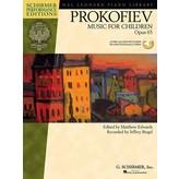 Schirmer Prokofiev - Music for Children, Op. 65
