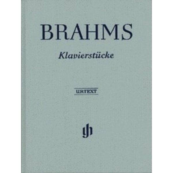 Henle Urtext Editions Brahms - Piano Pieces Hardcover