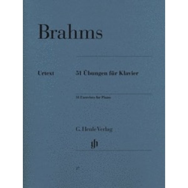 Henle Urtext Editions Brahms - 51 Exercises for Piano