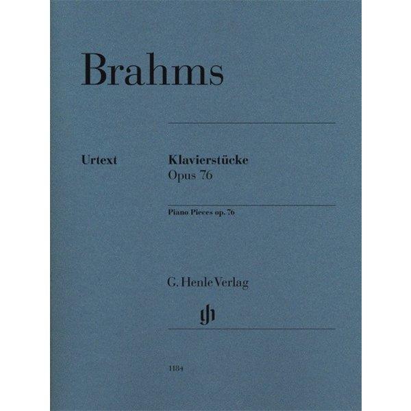 Henle Urtext Editions Brahms - Piano Pieces Op. 76 Nos. 1-8
