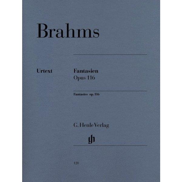 Henle Urtext Editions Brahms - Fantasies Op. 116, Nos. 1-7