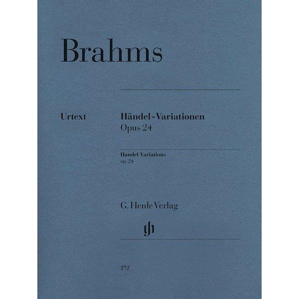 Henle Urtext Editions Brahms - Händel Variations Op. 24