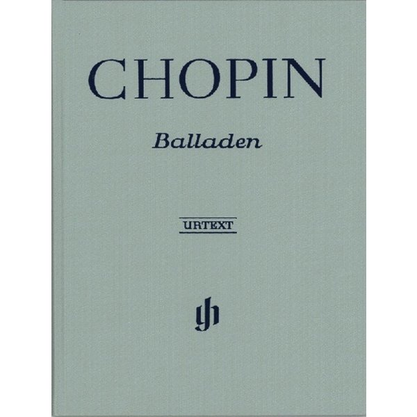 Henle Urtext Editions Chopin - Ballades Hardcover