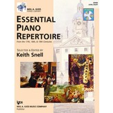 Kjos ESSENTIAL PIANO REPERTOIRE-LEVEL 8-BOOK&CD