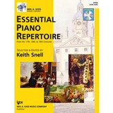 Kjos ESSENTIAL PIANO REPERTOIRE-LEVEL 9-BOOK&CD