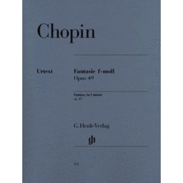 Henle Urtext Editions Chopin - Fantasy in F minor Op. 49