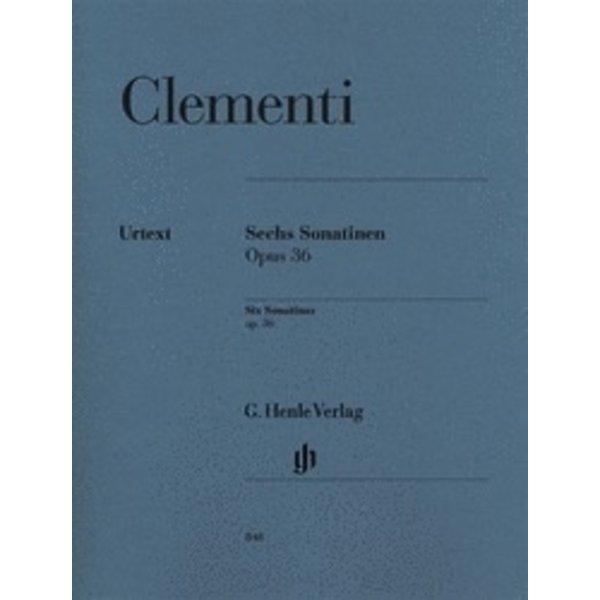 Henle Urtext Editions Clementi - 6 Sonatinas, Op. 36