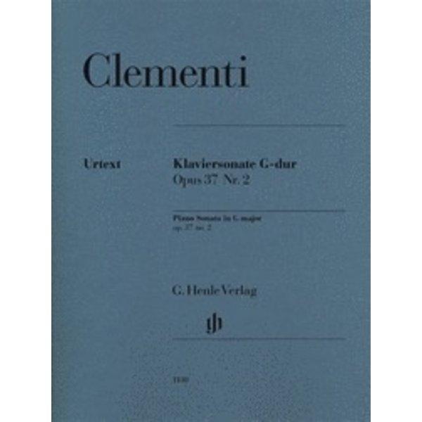 Henle Urtext Editions Muzio Clementi - Piano Sonata in G Major, Op. 37, No. 2