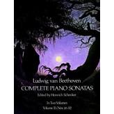 Dover Publications Beethoven - Piano Sonatas (Complete), Volume 2