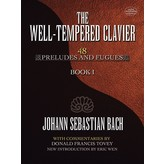 Dover Publications Bach - The Well-Tempered Clavier: 48 Preludes and Fugues Book I